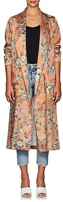 Icons Women's The Draper Floral- & Bird-Pattern Robe Jacket