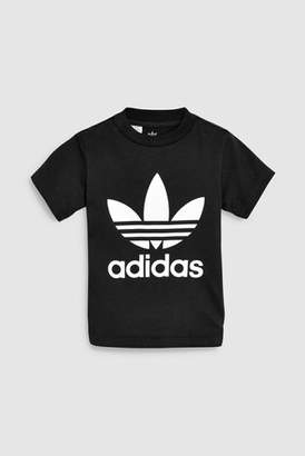 Next Girls adidas Originals Baby Trefoil Tee