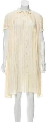 Mayle Knee-Length Shirt Dress
