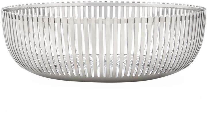 Steel Basket, White