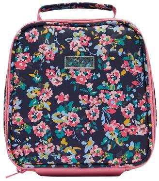 Joules Girls Munch Bag Printed Lunch Bag - Blue