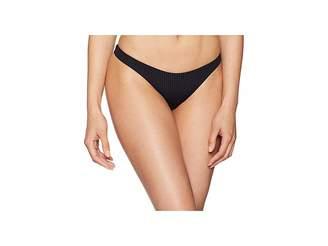Vitamin A Swimwear California High-Leg Ribbed Bottom