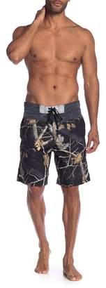 REALTREE Yoke Piecing Board Shorts