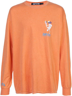 Adaptation AOD Skater Long Sleeve Vintage T-shirt