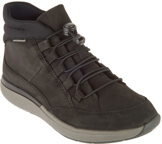 Clarks Leather Bungee Closure Mid Boots - Un.cruise Mid