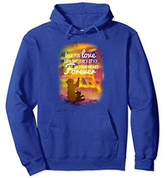 Disney Brother Bear Northern Lights Love Quote Hoodie