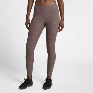Nike Epic Lux Women's Mid-Rise Lace Running Tights