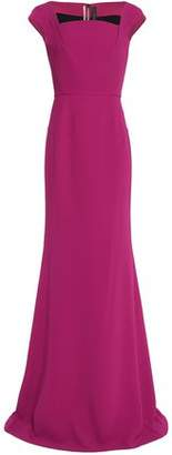Roland Mouret Flared Crepe Gown