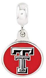 Collegiate Bead Company Sterling Silver Texas Tech University Dangle Be ad