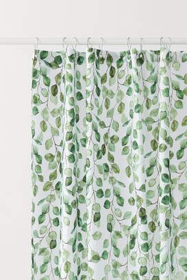 H&M Patterned Shower Curtain - Green