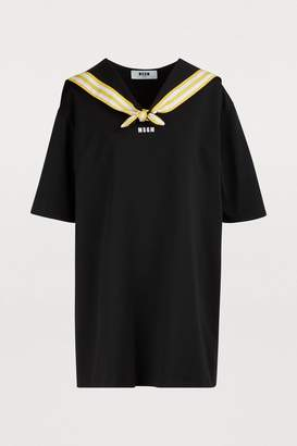 MSGM Short sailor dress