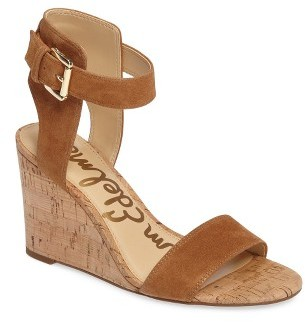 Women's Sam Edelman Willow Strappy Wedge Sandal $109.95 thestylecure.com