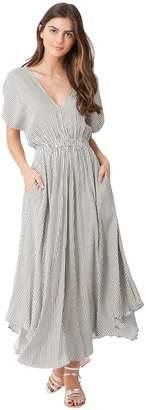 Hale Bob Gadi Twill Midi Dress