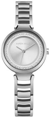 Karen Millen Diamante Edge Watch