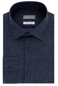 Michael Kors Regular-Fit Airsoft Stretch Printed Dress Shirt