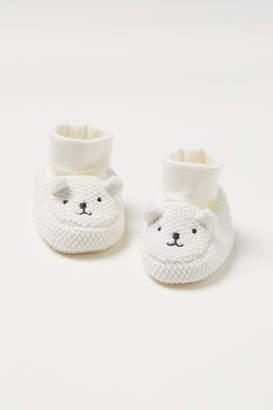 H&M Knit Slipper Socks - White