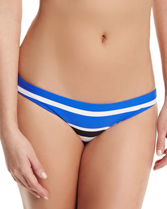 Seafolly Walk The Line Striped Hipster Swim Bottom $39 thestylecure.com