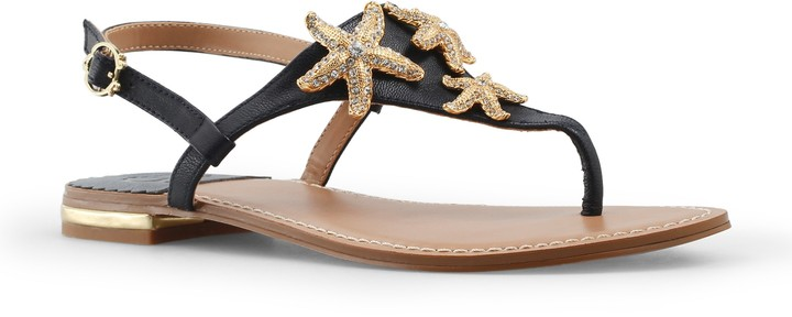 C. Wonder Nappa Leather Starfish Sandal