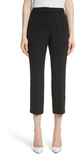 Kate Spade New York Lace Trim Crop Cigarette Pants