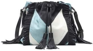 Isabel Marant Jeeba leather and suede shoulder bag