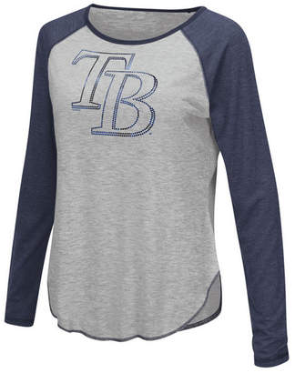 Touch by Alyssa Milano Women's Tampa Bay Rays Line Drive Long Sleeve T-Shirt