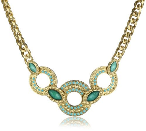 Laundry by Shelli Segal Embellished Statement Necklace