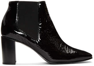 Rag & Bone Black Patent Aslen Boots