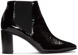 Rag & Bone Black Patent Aslen Boots