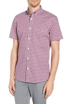Nordstrom Tech-Smart Slim Fit Check Sport Shirt