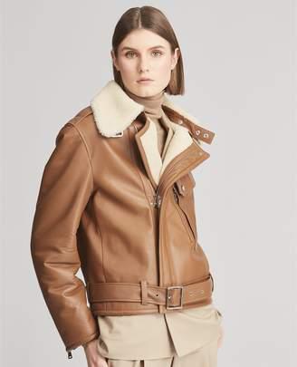 Ralph Lauren Williamson Shearling Coat