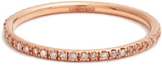 Ileana Makri Diamond & pink-gold ring