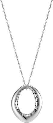 John Hardy Kali Pebble Silver Pendant Necklace