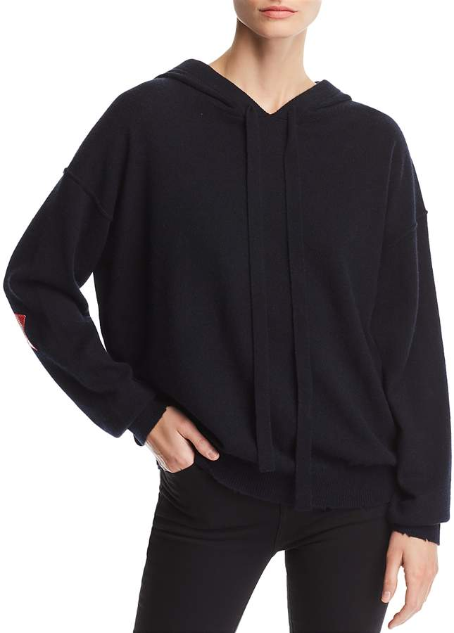 Nox Patch Hooded Cashmere Sweater