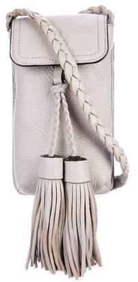 Rebecca Minkoff Grained Leather Flap Shoulder Bag