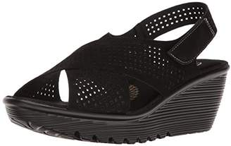 Skechers Women's Parallel Infrastructure Wedge Sandal $44.95 thestylecure.com