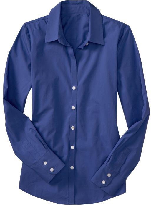 Women's Classic Button-Front Shirts