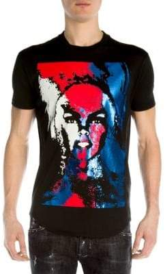 DSQUARED2 Drag Laminated Graphic Tee