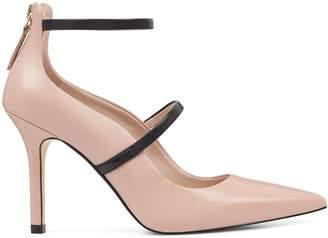 Mayhalina Ankle Strap Pumps