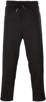 Diesel side stripe track pants $108.60 thestylecure.com