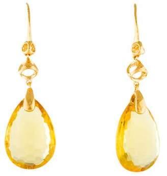Di Modolo Icona Honey Crystal Drop Earrings