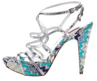 Missoni Metallic Printed Pumps