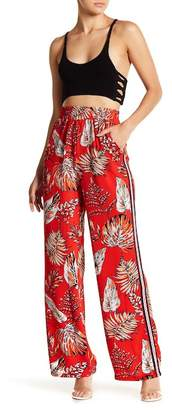 OnTwelfth Tropical Side Stripe Woven Pants