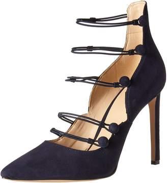 2f58e0b232d Nine West Blue Suede Heels - ShopStyle Canada