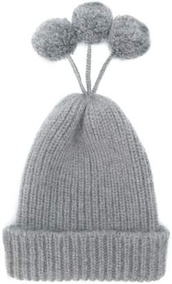 Thom Browne Cashmere Blend Pom-pom Hat online store f059a 16acb  Thom  Browne Snowflake Fair Isle ... 01c0dd87059c