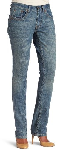 Dickies Women's Slim Fit Straight Leg Jean