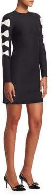 Valentino Bow-Sleeve Dress