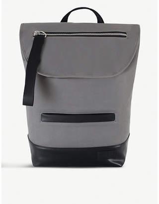 CHARLIE FEIST Shiro neoprene and vegan leather backpack
