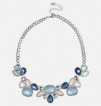Avenue Blue Stone Statement Necklace