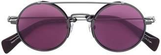 Yohji Yamamoto round framed sunglasses