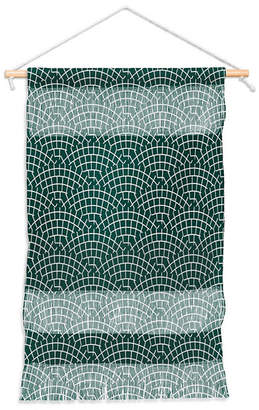 "Deny Designs Holli Zollinger Mosaic Scallop Marine Wall Hanging Portrait, 11""x16"""